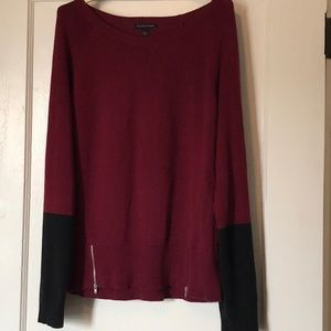 Eileen Fisher sweater in organic cotton/cashmere